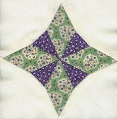 Helene Juul Design http://helenejuuldesign.blogspot.dk/ 1930s block made for a block swap
