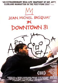Jean Michel Basquiat - Jean Michel Basquiat Downtown 81 Exhibit Poster | 1stdibs.com