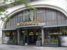 McDonald's Café Imperial. Oporto, Portugal