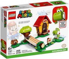 Lego Mario, Lego Super Mario, Yoshi, Super Mario Gameplay, Boutique Lego, Legos, Construction Lego, Lego Building Sets, Van Lego