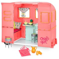 Our Generation Doll Accessories, Our Generation Dolls, American Girl Doll Room, American Girl Crafts, Og Dolls, Girl Dolls, Barbie Doll, Cosas American Girl, Doll Furniture