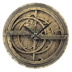 Antique Astrolabe Clock by TJ Ro Copyright © TJ Ro All rights reserved