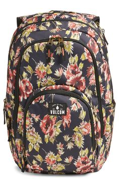 Loving this floral printed backpack that is perfect for carrying the essentials.
