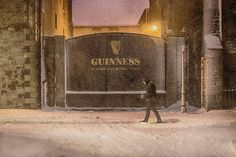 Waiting For Someone, Wait For Me, Walking By, His Hands, Guinness, Dublin, Photograph, Sign, Note