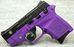 Smith & Wesson BodyGuard 380 Purple Passion Edition 380 ACP Pistol, w/ Laser. Smith & Wesson Bodyguard, Smith Wesson, Purple Gun, 380 Acp, Best Pocket Knife, Guns And Ammo, Concealed Carry, Hand Guns, Weapons