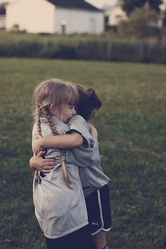 sisters always give the best hugs