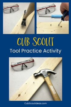 Fun Activity to Teach Cub Scouts How to Use Hand Tools via @CubIdeas