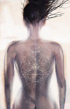 Getting to know... Tree of Life, sacred geometry. Art by Melissa Martinez | lunasolaris