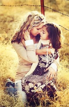 mother daughter by Vika