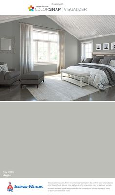 I found this color with ColorSnap® Visualizer for iPhone by Sherwin-Williams: Argos (SW 7065).