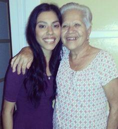 Zai with her Grandma. #ZaiLetsPlay #ZaiLetsChat #Zaira #YouTuber
