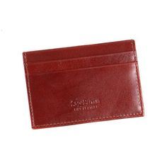 Dark Tan Slim Flat Credit Card Wallet #StockingFiller #DarkTan #CreditCardWallet #Under50 #ChristmasGifts #SageBrownLondon