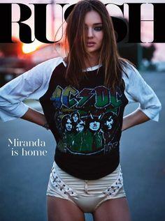 Miranda Kerry for Russh Oct/Nov 2012