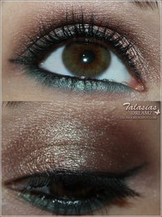 Eye Make Up - Datum: 06.06.2012  http://talasia.blogspot.de/2012/06/amu-swatch-catrice-absolute-eye-colour.html