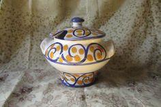 Açucareiro, Cerâmica Leite