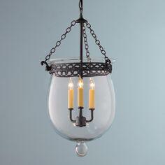 Clear Smokebell Lantern