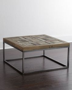 Woodbury Coffee Table at Horchow. This table is available at Trove for less money. Will need 2 of these Cheap Furniture Online, Retro Furniture, Affordable Furniture, Fine Furniture, Contemporary Furniture, Living Room Furniture, Wooden Furniture, Coffee Table Design, Coffee Tables