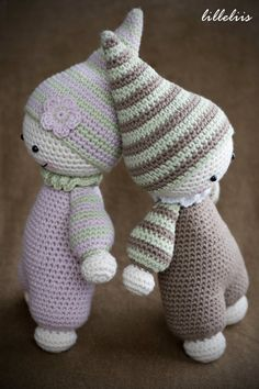 PATTERN Cuddlybaby crochet amigurumi by lilleliis on Etsy