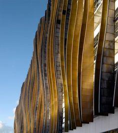 25 Stunning Architectural Facades: Holland Park School Facade, Aedas Architecture, London, UK