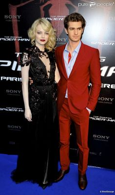 Emma Stone and Andrew Garfield (Spiderman lovers)