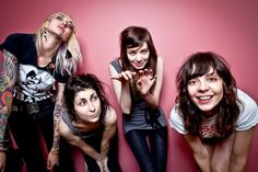The Coathangers these ladies rip