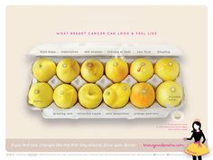 Breast Cancer Campaign Based on Lemons Goes Viral