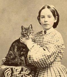 1860s-KITTY-CAT-cdv-Cute-GIRL-Holds-CAT-by-THROAT-by-LOEFFLER-Staten-Island-NY