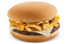 News: McDonald's Tests Dollar Menu Expansion. Frito lay burger New! Mcdonalds Dollar Menu, Bacon Hot Dogs, Discontinued Food, Beef Patty, Food Test, Tortilla Chips, Perfect Food, Pulled Pork, Recipes