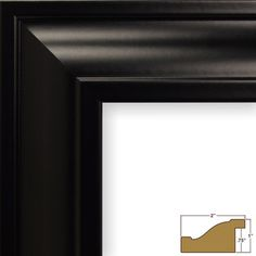 "Craig Frames Inc. 2"" Wide Smooth Picture Frame Color: Brazilian Walnut Brown, Size: 10"" x 13"""