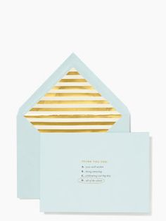 """All of the Above Thank You Card Set by kate spade new york 
