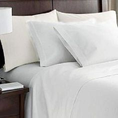 White Bed Sheets Set Full Bedding Sheet Sets Bedroom Linen Hypo-Allergenic  #WhiteBedSheetsSetFull #Modern
