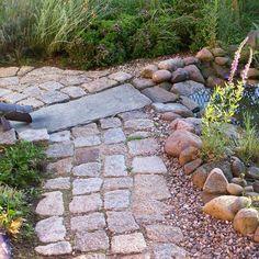 Elegant Fertigkeiten Kopfsteinpflaster Barfuss Gartenweg Kleine H user Mein Garten Gericht Balkon Projekte