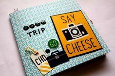 Tutorial Mini album viajero Scrapbook ... Scraptools