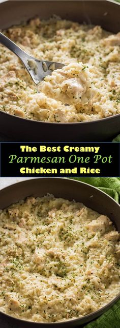 ★★★★★ 997 Reviews : #Delicious #Dinner #Creamy #Parmesan #One #Pot #Chicken #and #Rice Delicious and healthy family choice special food and drink Creamy Parmesan One Pot Chicken and Rice Creamy Parmesan One Pot Chicken and Rice - This deliciously creamy chicken and rice is one of the easiest one pot meals you will ever make! #The #Best # All # Recipes
