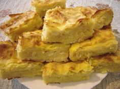 Banitza (Banitsa) - A Bulgarian Traditional Homemade Pie-like Filo Pastry Recipe With Great Possibility For Variation Pastry Recipes, My Recipes, Dessert Recipes, Cooking Recipes, Recipies, Good Enough, Moussaka, Bulgaria Food, Macedonian Food