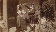 Don Antonio Coronel and Mrs. Brandt, 1890s?