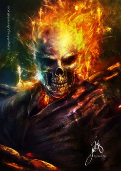 The Ghost Rider by jazzsiy in 2012