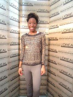 Audrey de #labeautéparisienne a testé le salon de coiffure éphémère L'Oréal Professionnel !