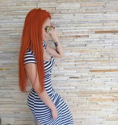 Long Red Hair, Girls With Red Hair, Beautiful Red Hair, Beautiful Redhead, Red Hair Doll, Fiery Redhead, Henna Hair, Hottest Redheads, Copper Hair