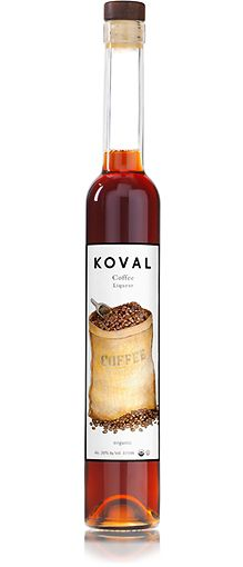 KOVAL Coffee Liqueur.  Add this to an Old Fashioned cocktail for a unique kick, or in a White Russian.