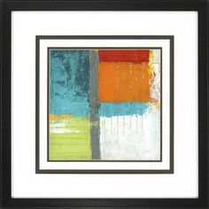 Propac Images Urban Impact 2 Piece Framed Painting Print Set