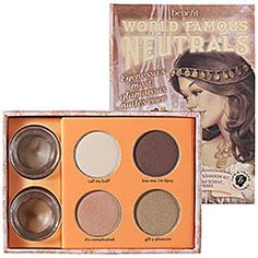 Benefit Cosmetics - World Famous Neutrals - Most Glamorous Nudes Ever  #sephora