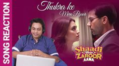 Mera Intkam Dekhegi   Song Reaction   Shaadi Mein Zaroor Aana   Rajkumma...