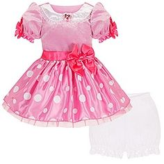 Minnie Mouse Costume for Toddler Girls - Pink