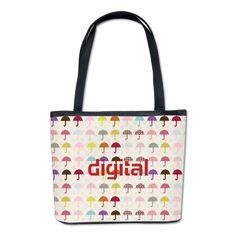 Chic Umbrella Travel Bucket Bag #umbrella #pattern #bucketbag