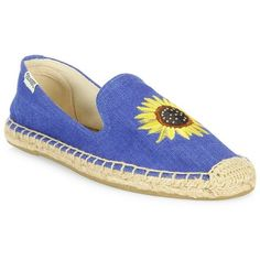 19b0fdf8ba6 Soludos Embroidered Sunflower Espadrille Flats (2