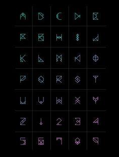 """Geomas - Josip Kelava """"Ever listened to a piece of music and got inspired? It… - Geomas – Josip Kelava """"Ever listened to a piece of music and got inspired? It… Geomas – Josip Kelava """"Ever listened to a piece of music and got inspired? Alphabet Symbols, Typography Alphabet, Typography Fonts, Typography Design, Logo Design, Graphic Design, Inspiration Typographie, Typography Inspiration, Blog Inspiration"""