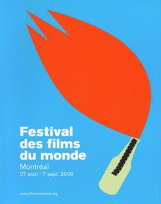 Montreal World Film Festival | 2009 | Poster by Mathieu Lavoie