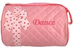 Dance Duffle Bag Light Pink Quilted Dance Duffle Bag by lilprincess, http://www.amazon.com/dp/B0091W72WM/ref=cm_sw_r_pi_dp_7Kvksb1PKZYKE