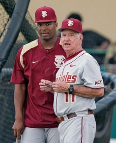 Jameis and Coach Martin Florida State Football, College Football Teams, Florida State University, Florida State Seminoles, Fsu Baseball, Football Season, 4 Life, Garnet, Sports